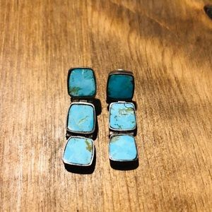 Authentic Zuni Native American earrings